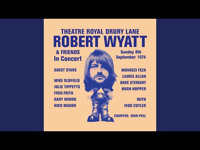 Signed Curtain - Robert Wyatt | Shazam