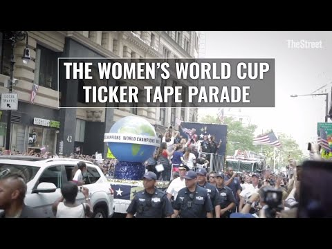Behind the Scenes: Women's World Cup Ticker Tape Parade