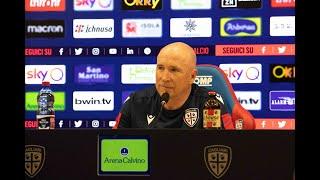 Cagliari-Napoli, la conferenza stampa pre-gara