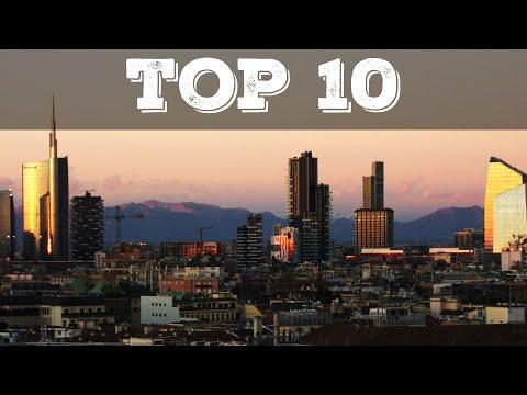 Top 10 grattacieli più alti di Milano