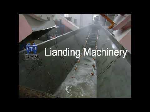 PVC pipe crushing washing drying line,plastic recycling line