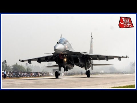 Khabardaar: 20 Fighter Planes Make Touch Down Drill On Lucknow Expressway