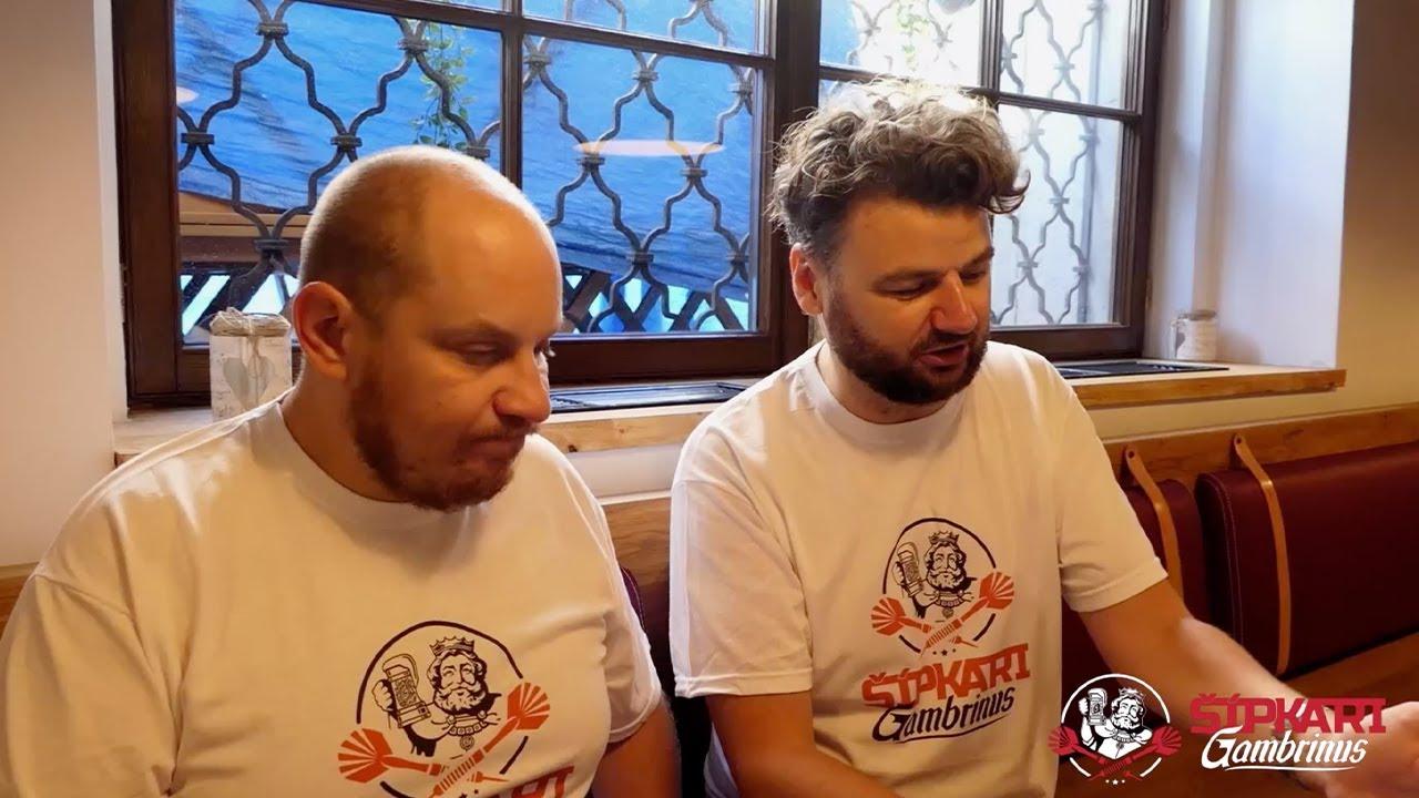 Silné Hroty sa chystajú na šípkový turnaj (vlog 1)