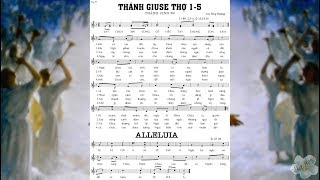 Thánh vịnh 89 - LỄ THÁNH GIUSE THỢ 1/5 - ĐÁP CA & ALLELUIA - Lm. Huy Hoàng