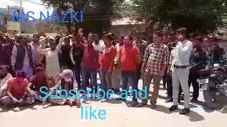 2nd Day People Protest Continues  against premature transfer of DDC Poonch