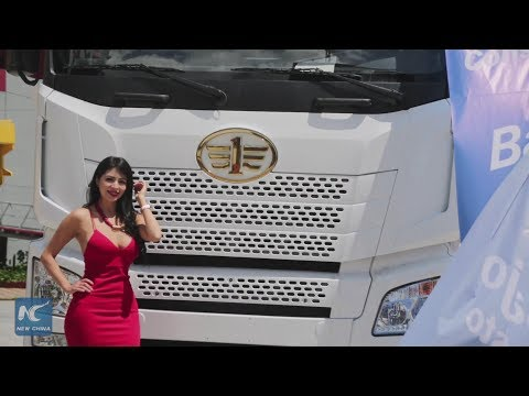 Leading Chinese company presents heavy vehicles in Ecuador