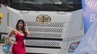 Baixar Leading Chinese company presents heavy vehicles in Ecuador