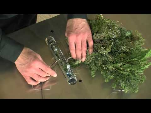 Mitchell Wreaths, Part 2 Of 6 (No Hammer Regular Wreath Making)