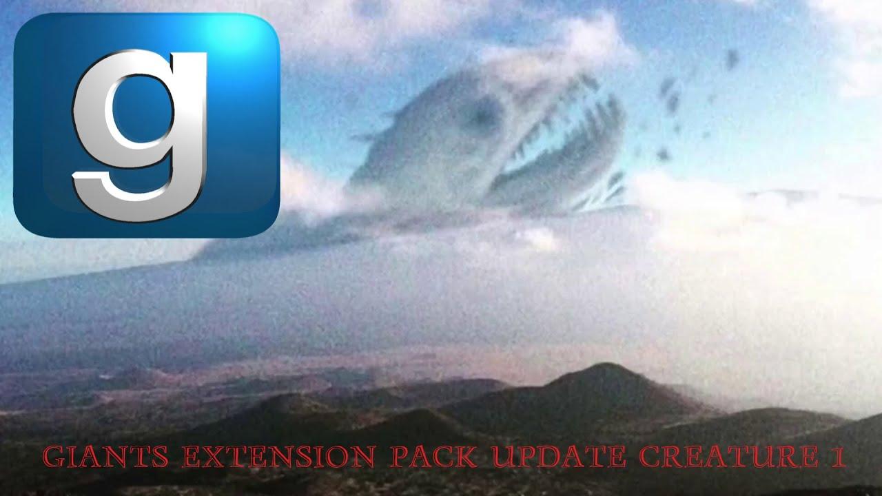 Download **NEW** GMod Trevor Henderson Giants Extension Pack Update Creature: Behemoth.