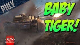 War Thunder Tanks! BABY TIGER! - War Thunder Tanks Gameplay