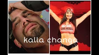 Kalla changa song/heart touching love / wwe roman &niki Billa emotional love on punjabi song