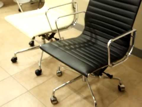 Eames Group Aluminium Chair + executive chair - YouTube