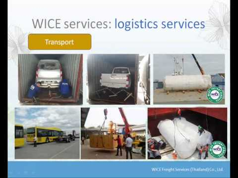 WICE Freight, Company Profile & Services of Thailand leading Freight Forwarder