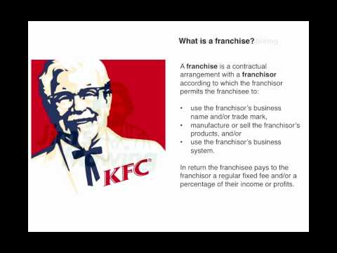 Business Law 9.5: Franchising