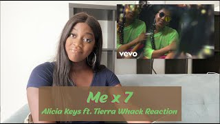 "Alicia Keys ft. Tierra Whack - ""Me x 7"" Reaction"