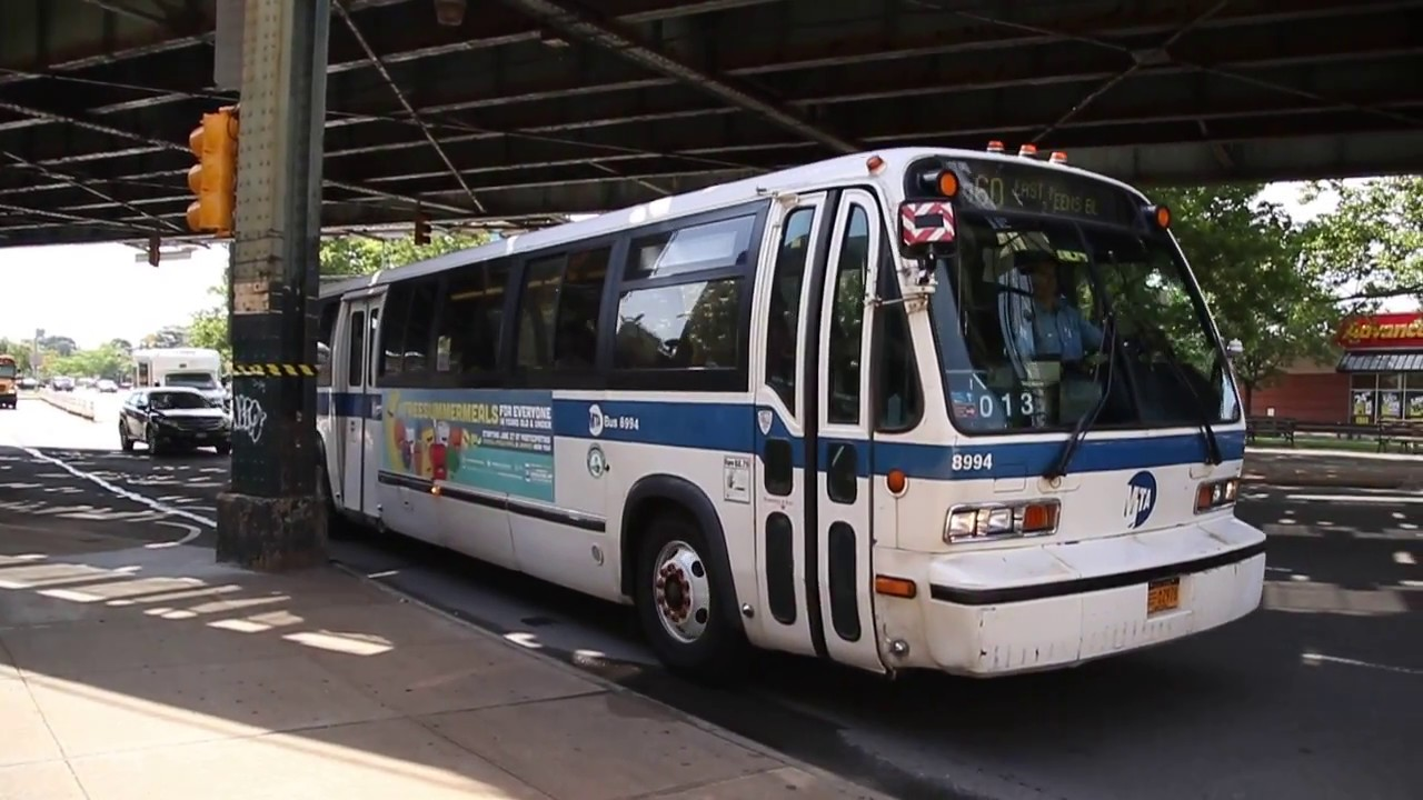 Mta Bus Q60 Bus Arriving At 48th St Queens Blvd Youtube