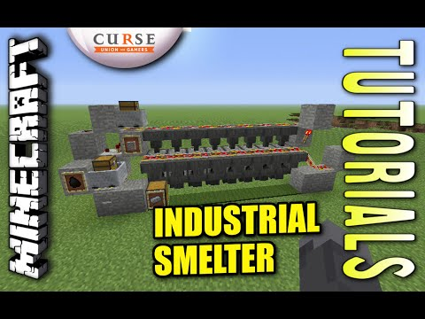 minecraft-ps4---industrial-smelter-(-semi-auto-)-how-to---tutorial-(-ps3-/-xbox-)