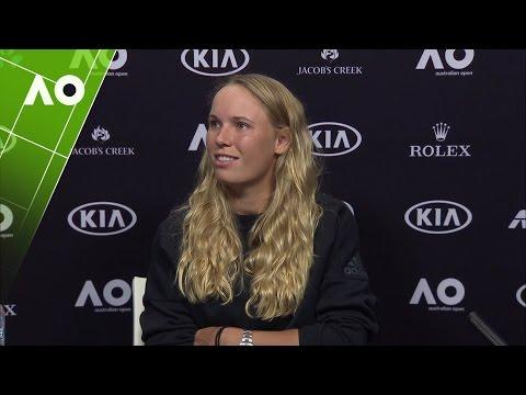 Caroline Wozniacki press conference (2R) | Australian Open 2017