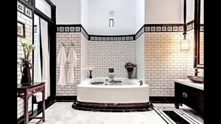 Белая плитка кабанчик для ванной