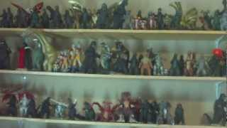 My Entire Godzilla Collection as of (2/11/12)