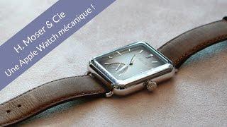Une Apple Watch mécanique ! Entretien avec H.Moser @ Baselworld