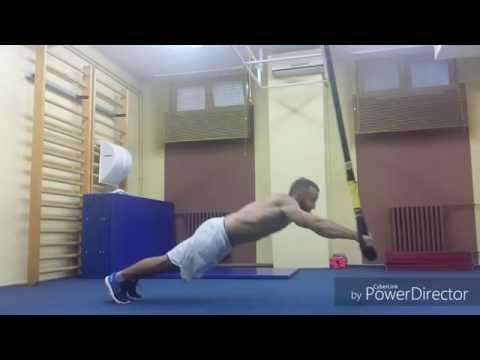 Extreme 5 TRX exercises