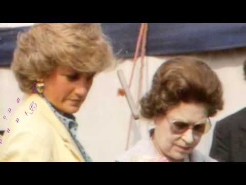 Queen Elizeth II and Lady Diana Spencer