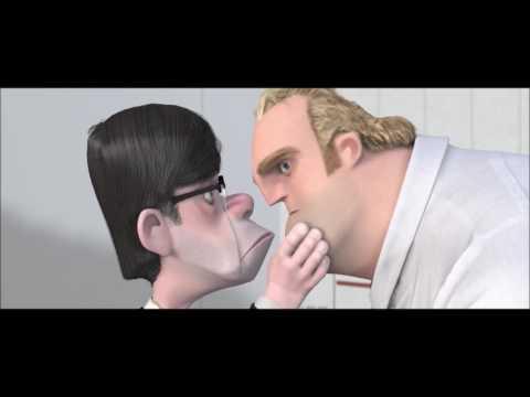 Mr. Incredible vs his Boss