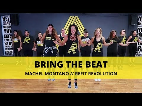 """Bring The Beat""    Machel Montano    Fitness Warm Up    REFIT® Revolution"