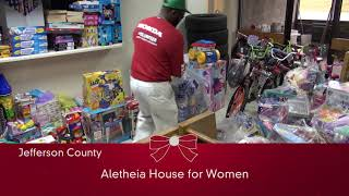 Honda Manufacturing of Alabama's 2017 Toy and Food Drive
