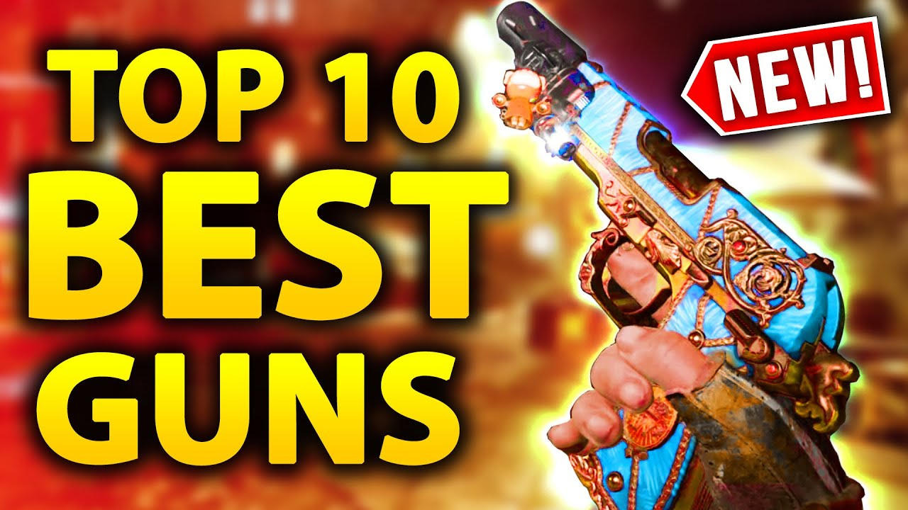 Download NEW TOP 10 BEST PACK A PUNCHED GUNS IN COLD WAR ZOMBIES (OP Weapons & Loadouts SEASON 4+)