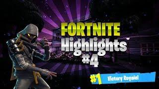 *NINJA* Fortnite Highlights #4 (Ninja's best kills and moments!!!)