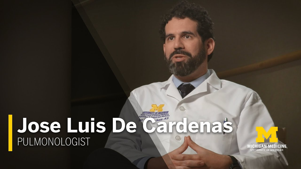 Jose Luis De Cardenas, M.D. | Pulmonologist, Michigan Medicine