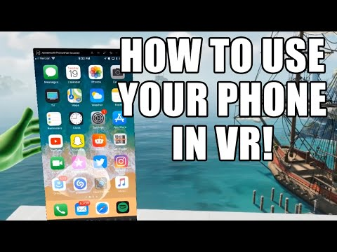 How To Use Your Phone Or Tablet In VR! | IOS And Android
