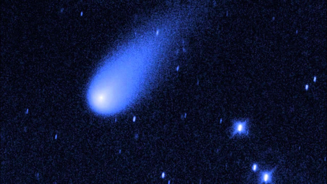 El Cometa ISON En Movimiento