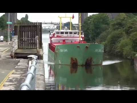 Latchford Locks Manchester Ship Canal