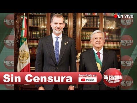 EN VIVO AMLO responde duro a Pedro Ferríz Fifí y habla de carta al Rey de España y al Papa 3/26/2019