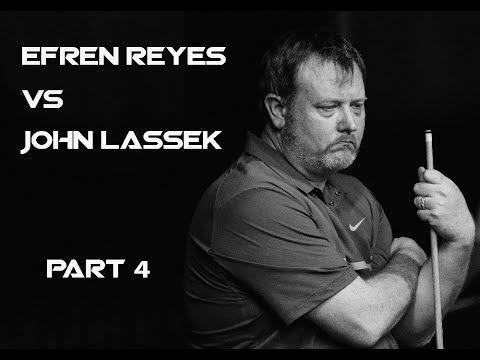 Pt 4 / The Efren Challenge! John Lassek vs Efren Reyes