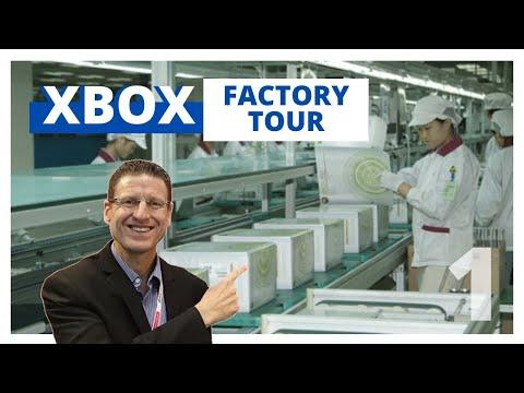 XBOX Game Controller Factory Tour - Part 1
