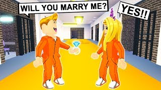 A PRISONER Asked Me To MARRY Him In PRISON! (Roblox)