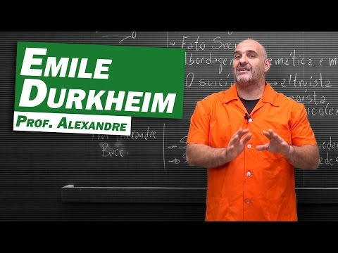 Sociologia - Emile Durkheim