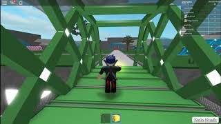 Playing Lucky Block Roblox with friends
