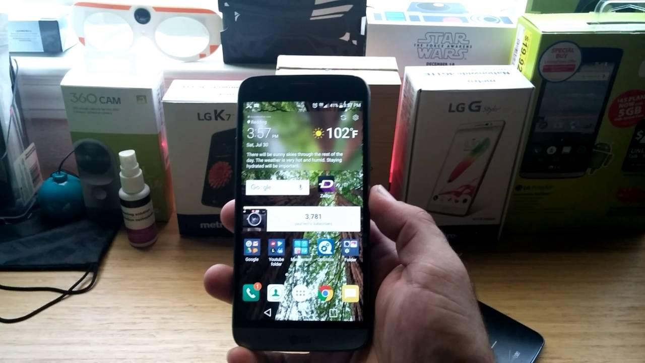 US Cellular LG G5 Global Mode no unlock code needed using on Metro PCS