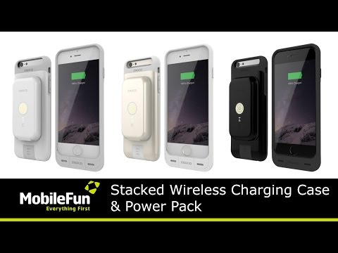 Stacked Wireless Charging Cases and Power Packs
