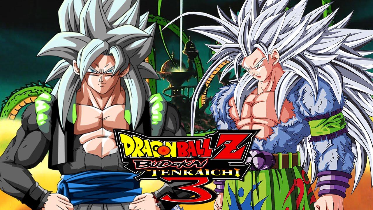ssj5 gogeta vs ssj5 goku dragon ball z budokai tenkaichi 3 mods