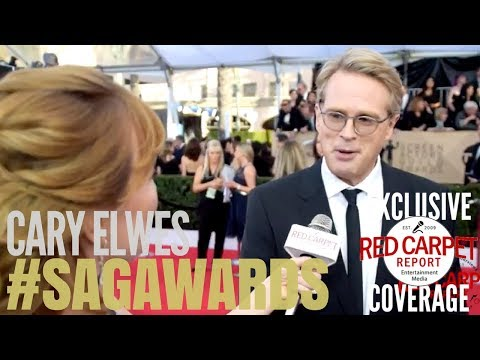 Cary Elwes interviewed on the 24th Screen Actors Guild Awards Red Carpet #SAGAwards