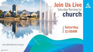 Church Live: 10th of April 2021 | Sermon: Serge Couty