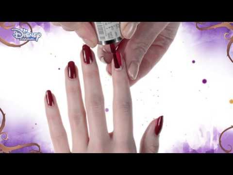 Descendants 2 nail art