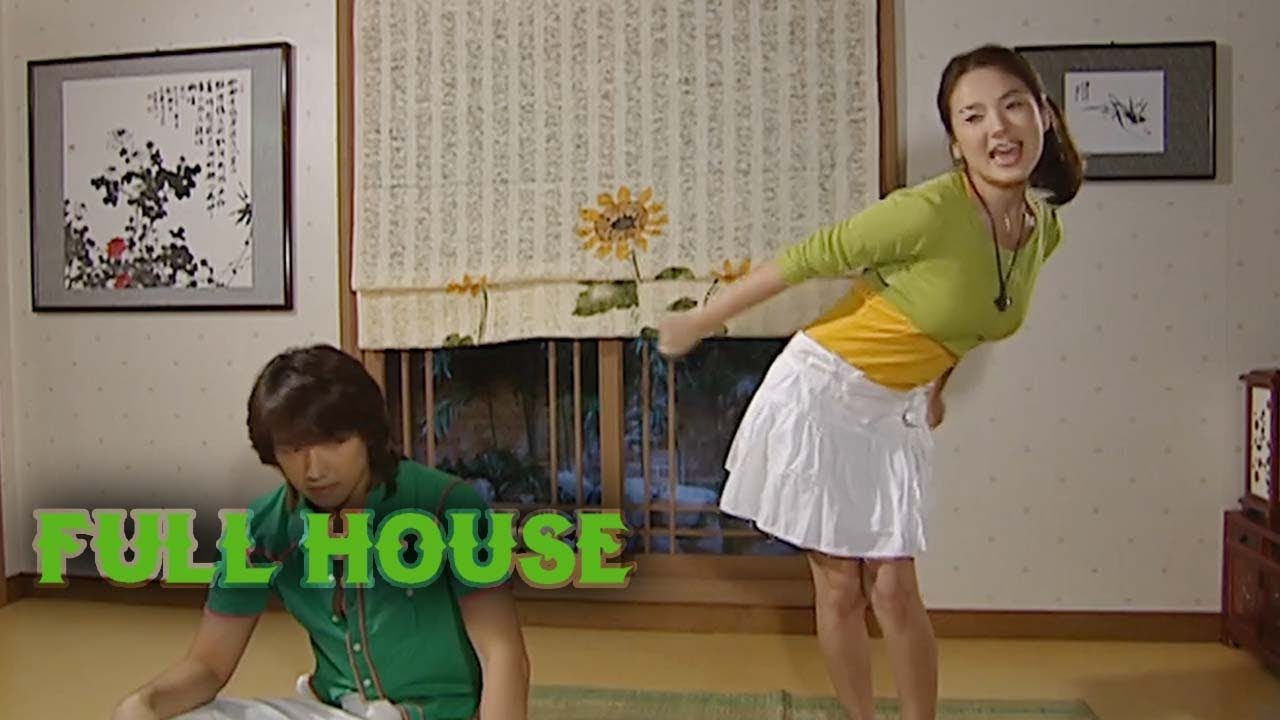 Song Hye Kyo S Bear Dance Three Bears Live Together Full House Ep 5