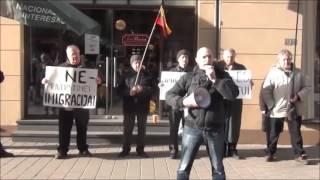 Литва против принудительной миграции(6 февраля 2016 года в центре Вильнюса состоялась акция протеста, во время которой была представлена 30-метрова..., 2016-02-07T14:42:41.000Z)
